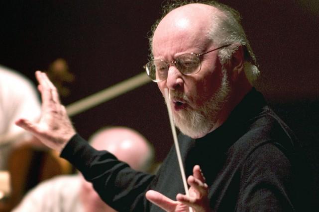 Le compositeur et chef d'orchestre John Williams.... (Photo Robert E. Klein, archives AP)