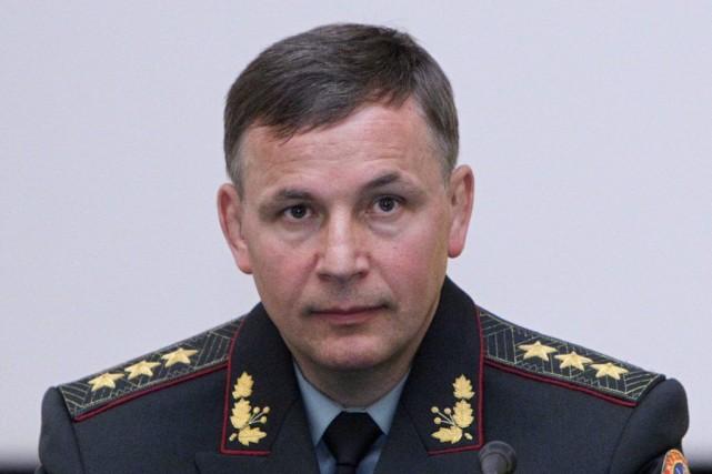 Le nouveau ministre de la Défense Valeriï Gueleteï... (PHOTO VALENTYN OGIRENKO, REUYERS)