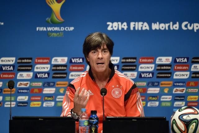 Le sélectionneur de l'équipe allemande Joachim Löw.... (Photo Martin Meissner, AP)