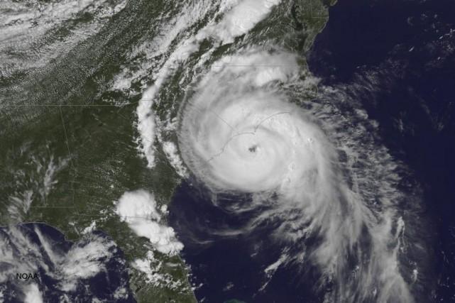 Arthur, la première tempête officielle de la saison,... (Photo AFP)