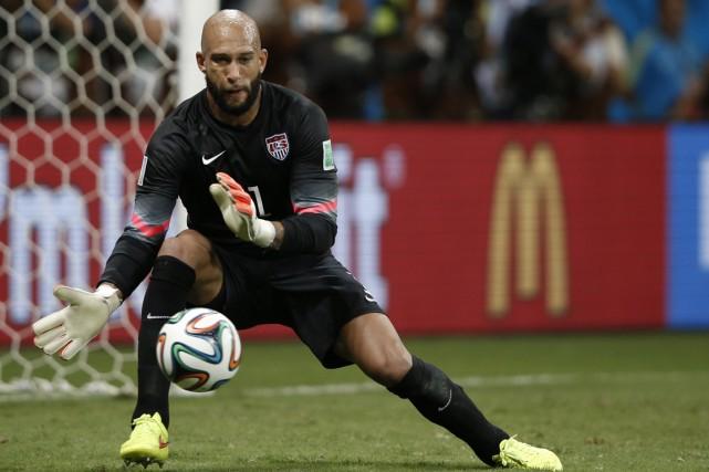 Plusieurs gardiens ont excellé pendant le Mondial. Du... (Photo Adrian Dennis, AFP)