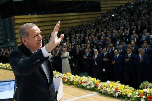 Le premier ministre Recep TayyipErdogan.... (PHOTO UMIT BEKTAS, ARCHIVES AP)