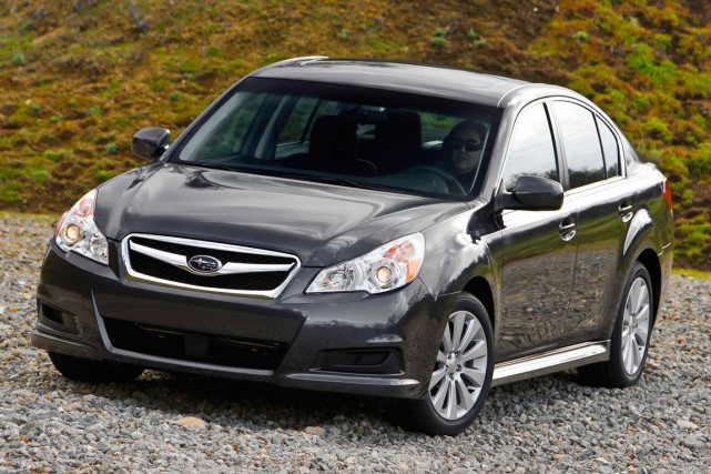 La Subaru Legacy 2010.... (Photo fournie par Subaru)