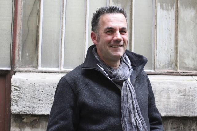 Jean-Paul Didierlaurent est étonné de voir que le... (Photo fournie par l'auteur)