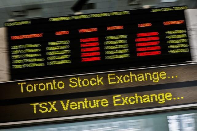 À la bourse de Toronto, l'indice S&P/TSX avait... (PHOTO MARK BLINCH, ARCHIVES REUTERS)