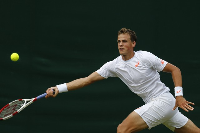Vasek Pospisil... (Photo Andrew Cowie, archives AFP)