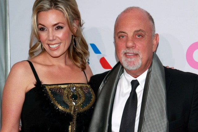 Alexis Roderick et Billy Joel... (Photo: archives AP)