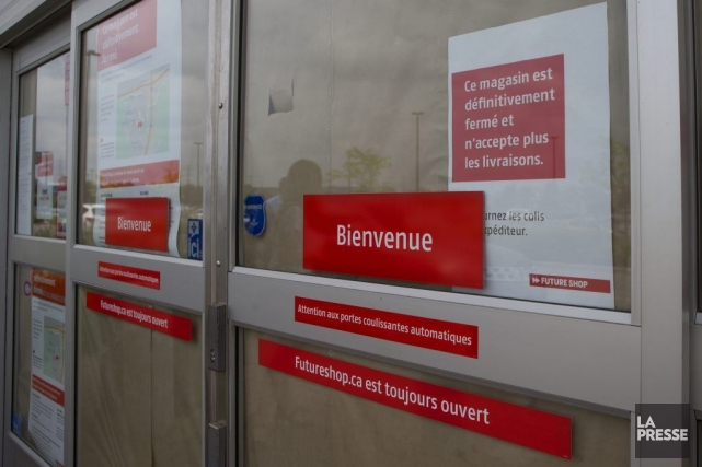 La conversion du Future Shop de Boucherville en... (PHOTO OLIVIER JEAN, LA PRESSE)