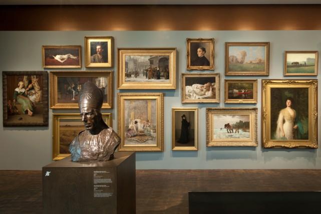 La décision, très étonnante, d'avoir imposé aux musées... (PHOTO FOURNIE PAR LE MBAM)