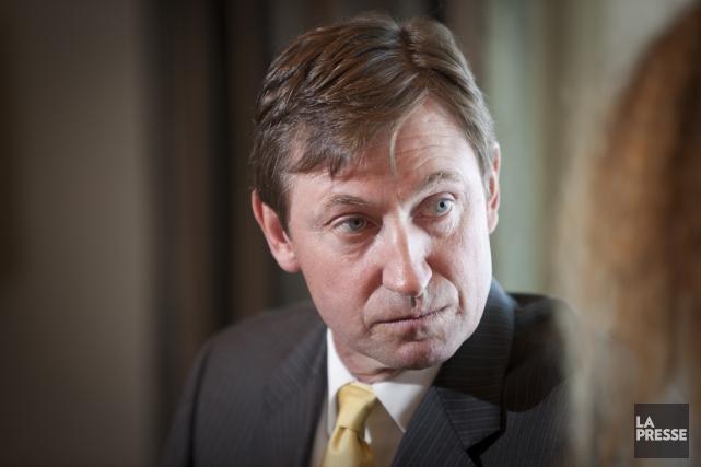 Wayne Gretzky... (Photo André Pichette, archives La Presse)