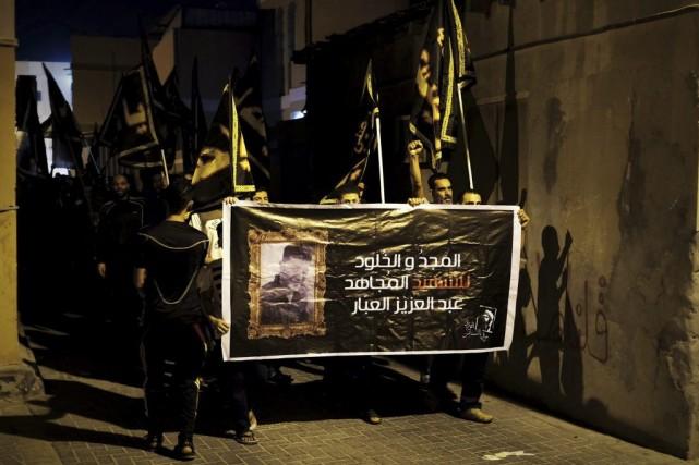 Au Bahreïn, l'opposition réclame l'instauration d'une véritable monarchie... (PHOTO MOHAMMED AL-SHAIKH, ARCHIVES AFP)