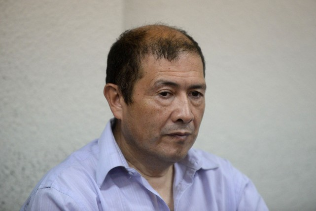 Fermin Solano a été condamné par le tribunal... (Photo Johan ORDONEZ, AFP)