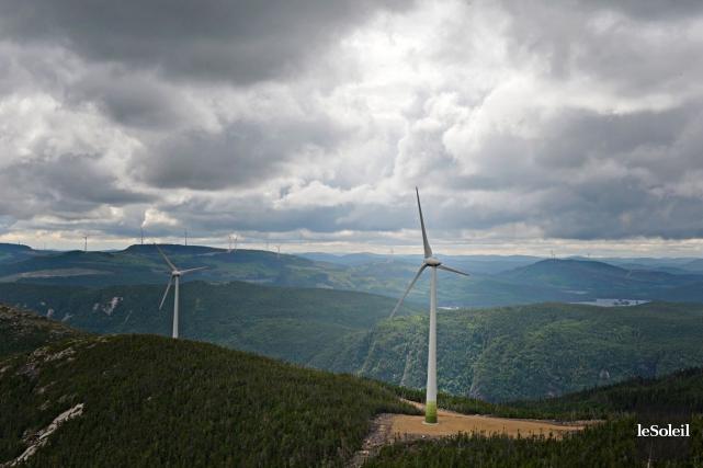 Les parcs éoliens annoncés en grande pompe ces... (Photothèque Le Soleil, Pascal Ratthé)