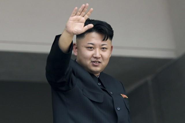 Kim Jong-Un... (Photo archives AP)