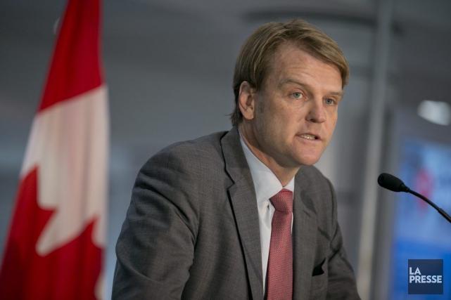 Chris Alexanderdiscutera notamment des façons d'immigrer au Canada... (PHOTO DAVID BOILY, LA PRESSE)