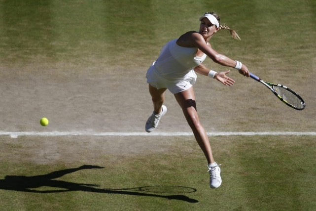 Eugenie Bouchard est l'avenir du tennis féminin. On... (PHOTO SANG TAN, ASSOCIATED PRESS)