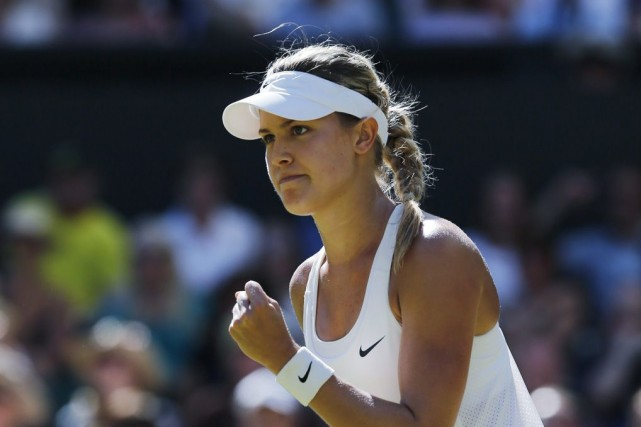 Eugenie Bouchard passera assurément du 13e au 7e... (Photo Archives Associated Press)