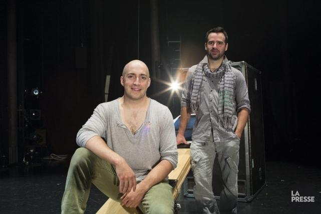 Nicolas Boivin-Gravel et Samuel Roy ont fondé la... (PHOTO EDOUARD PLANTE-FRÉCHETTE, LA PRESSE)