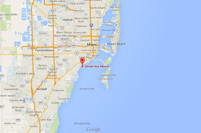 L'accident s'est produit vendredi soir près de la... (Photo Google Maps)