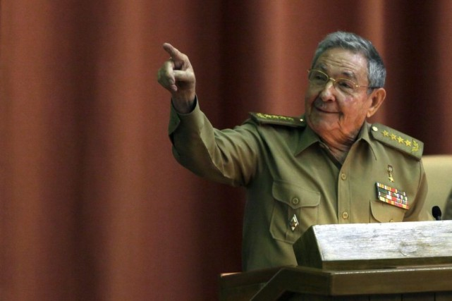 Raul Castro... (Photo Ismael Francisco, Archives AP)