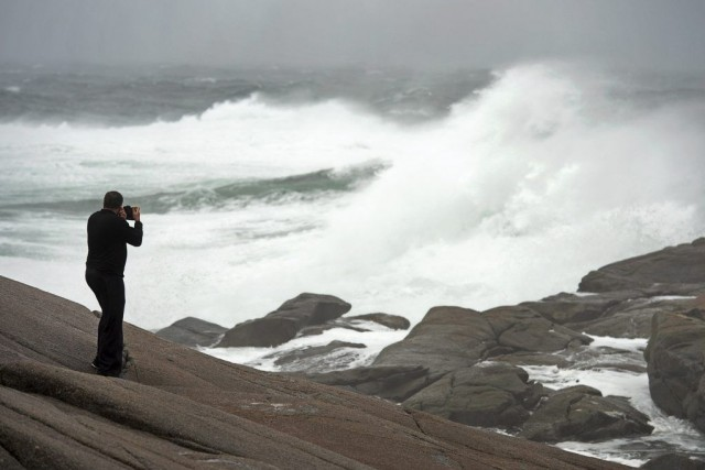 Arthur, première tempête officielle de la saison des... (Photo Andrew Vaughan, PC)