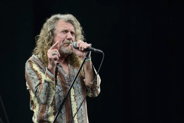 Robert Plant en spectacle à Glastonbury.... (Photo: archives AFP)