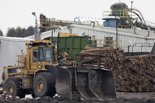 Tembec compte quelque 3400 employés et génère des... (Photo d'archives, La Presse Canadienne)