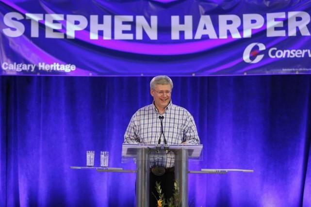 Le premier ministre Stephen Harper.... (PHOTO TODD KOROL, REUTERS)