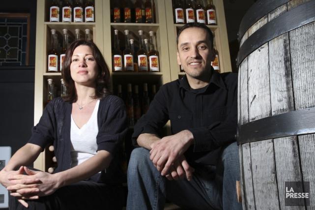 Union librecidre & vin, de Dunham, a fait... (Photo Stéphane Champagne, archives La Presse)
