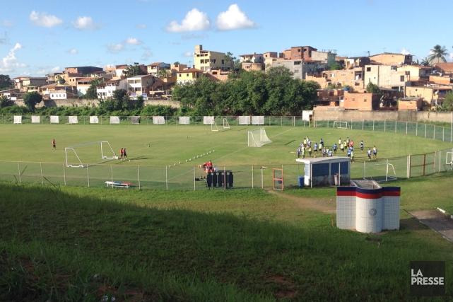 Le centre d'entraînement de Fazendão, à Salvador, qui... (Photo Pascal Milano, La Presse)