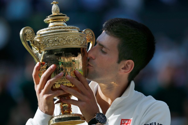 Novak Djokovic... (Photo Ben Curtis, AP)