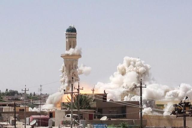 Une douzaine de sanctuaires du nord de l'Irak... (PHOTO BBC)