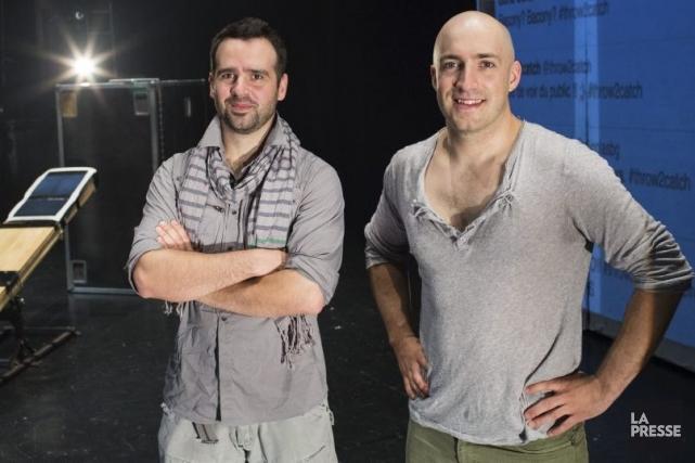 Nicolas Boivin-Gravel et Samuel Roy, les créateurs de... (Photo: Édouard Plante-Fréchette, La Presse)