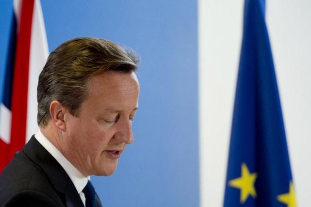 Le premier ministre britannique David Cameron a, de... (PHOTO ALAIN JOCARD, ARCHIVES AFP)