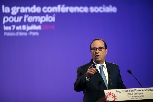 François Hollande (notre photo) et son premier ministre... (PHOTO BENOIT TESSIER, REUTERS)