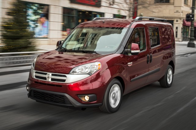 Le ProMaster se décline en huit versions, dont... (Photo fournie par Fiat Chrysler)