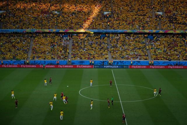 Les échantillons analysés dans le cadre du programme antidopage de la Coupe du... (Photo Odd Andersen, AFP)