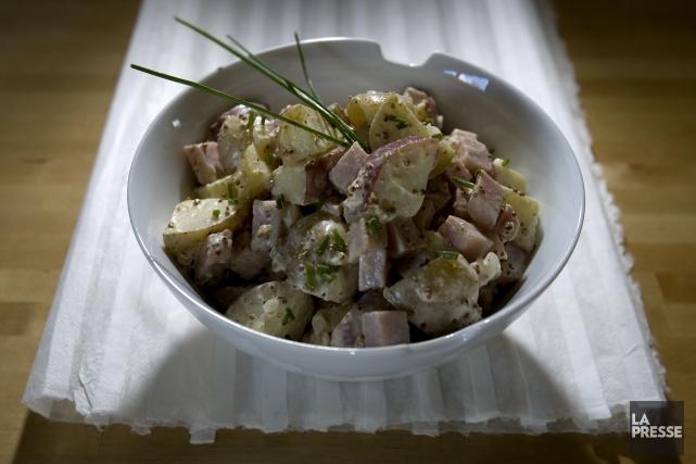 La salade de pommes de terre,plat incontournable de... (PHOTO ALAIN ROBERGE, ARCHIVES LA PRESSE)