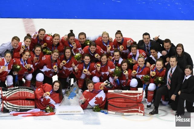 Kevin Dineen a mené les Canadiennes à la... (PHOTO BERNARD BRAULT, ARCHIVES LA PRESSE)