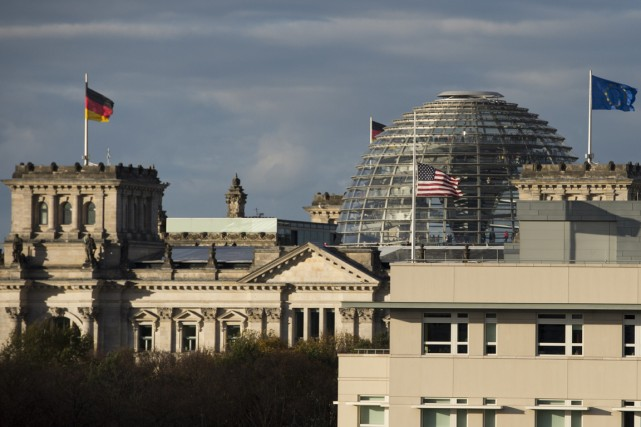 Les relations germano-américaines ont déjà été mises à... (PHOTO JOHN MACDOUGALL, ARCHIVES AFP)