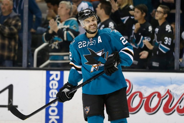 Boyle savait après que les Sharks eurent été... (PHOTO ARCHIVES USA TODAY)
