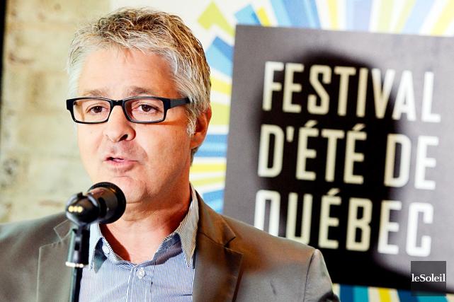 Daniel Gélinas, dg du Festival d'été de Québec... (Photothèque Le Soleil, Erick Labbé)