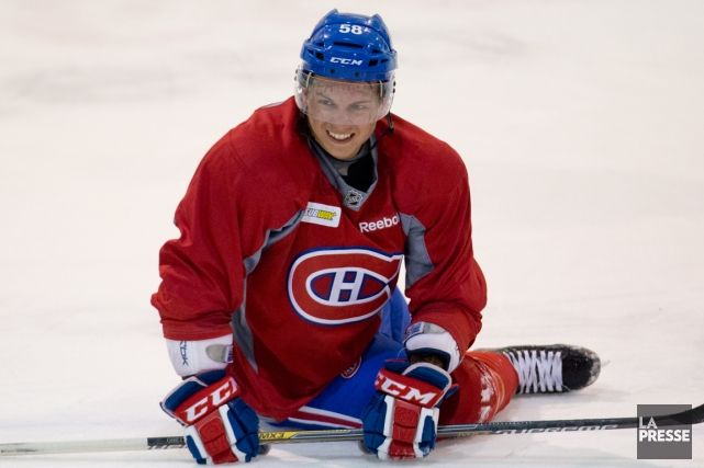 Sven Andrighetto dit être beaucoup plus à l'aise... (Photo David Boily, La Presse)
