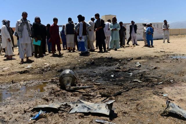 L'ISAF a confirmé la mort de quatre de... (PHOTO WAKIL KOHSAR, AFP)
