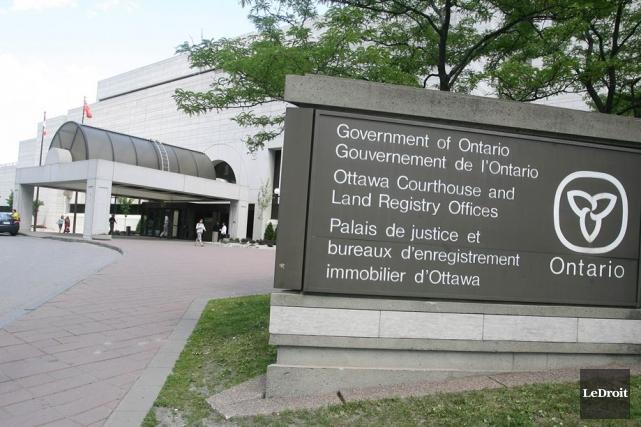 Palais de justice d'Ottawa... (Archives, LeDroit)