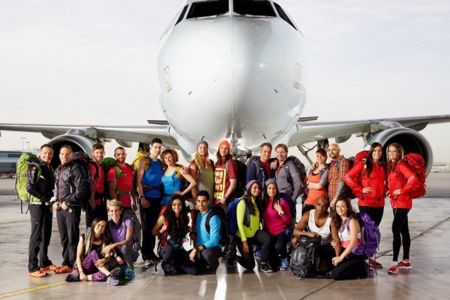 Les onze équipes de The Amazing Race Canada.... (Photo: La Presse Canadienne)