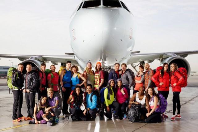 Les onze équipes de The Amazing Race Canada.... (Photo: La Presse Canadienne)