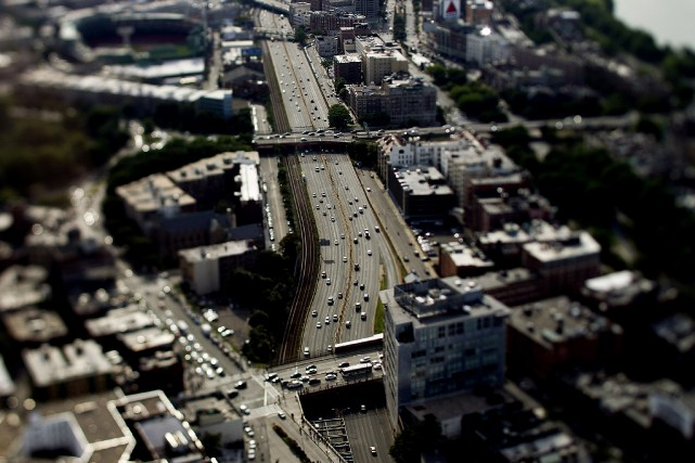 Le Highway Trust Fund, qui sert à financer les... (Photo Brent Lewin, archives Bloomberg)