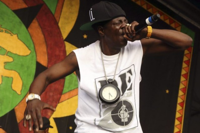 Flavor Flav du groupe Public Enemy.... (Photo: AP)