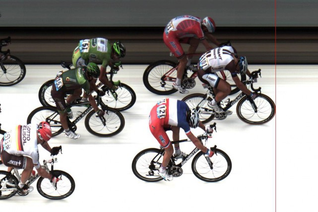 L'Allemand Marcel Kittel a devancé au sprint le... (Photo AFP)